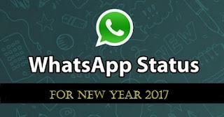 Whatsapp Status, Best Happy New Year Status