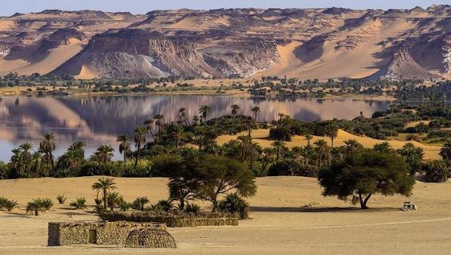 بحيرات أونيانجا في تشاد