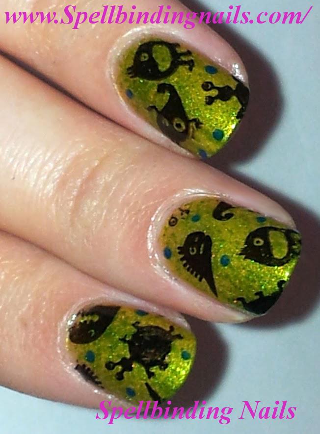 Spellbinding Nails Ch32 Bacteria Monsters