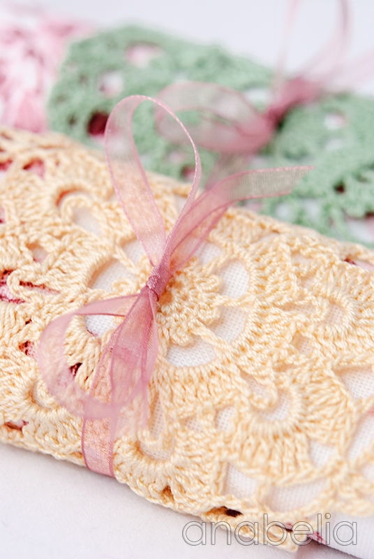 Crochet doilies 1 and 2 by Anabelia