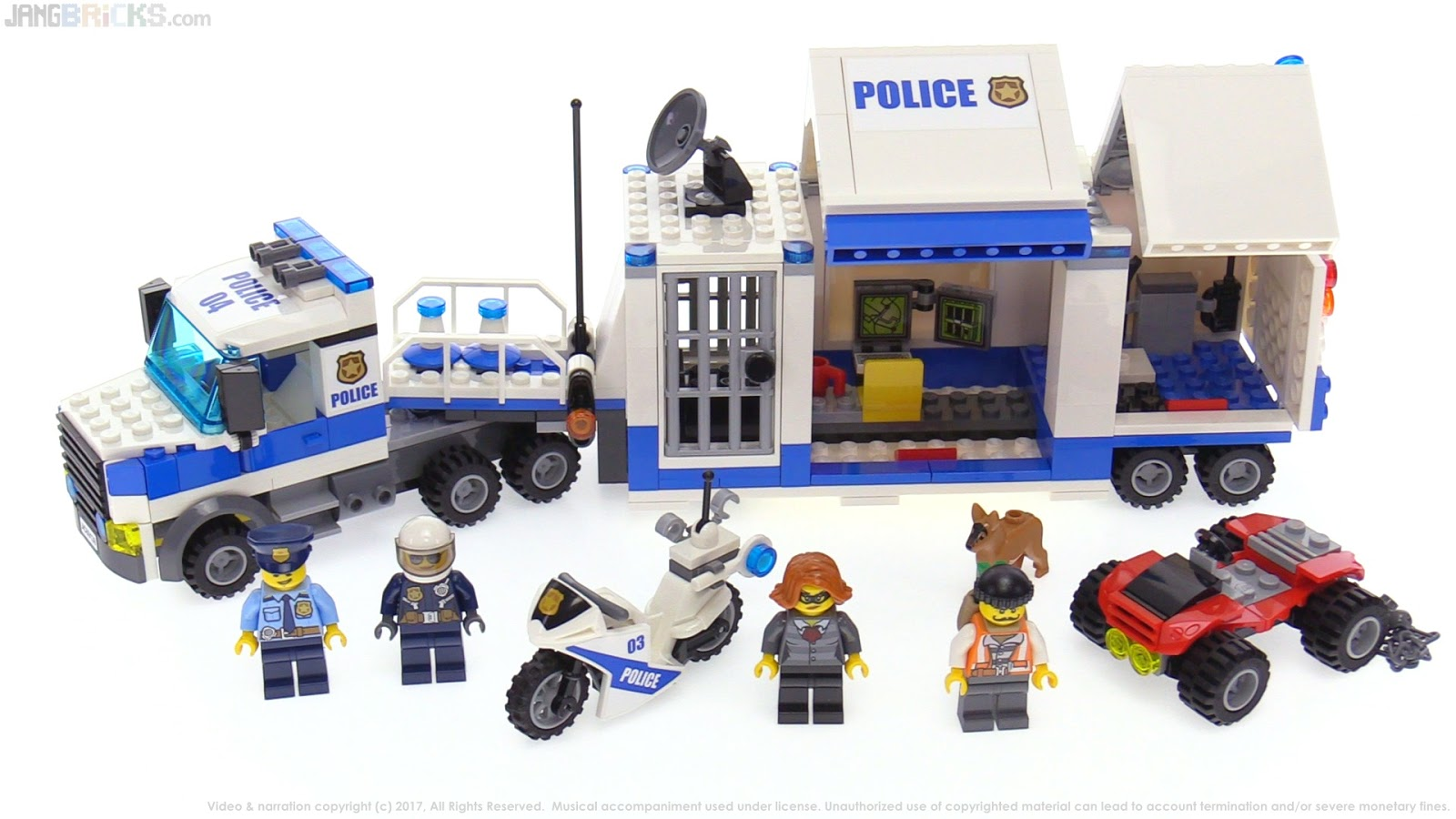lego city police mobile command center review. Black Bedroom Furniture Sets. Home Design Ideas