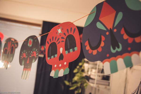 halloween koristeet viirinauha