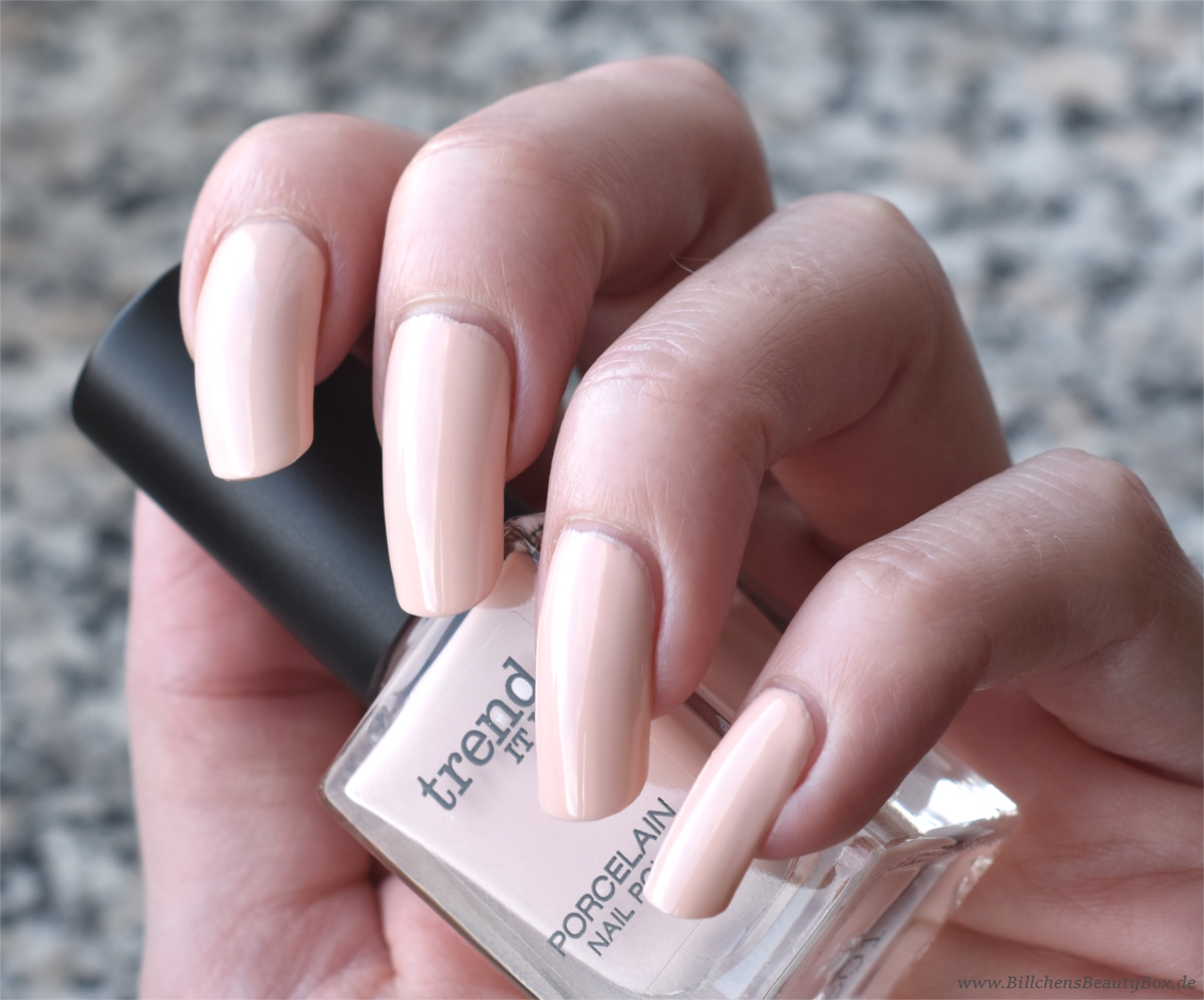 trend IT UP - neues Sortiment Frühling und Sommer 2017 - Porcelain Nail Polish 040 Swatch