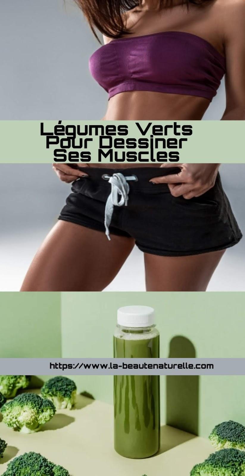 Légumes Verts Pour Dessiner Ses Muscles
