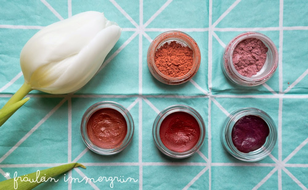Angel Minerals Blushes und Mini-Lips