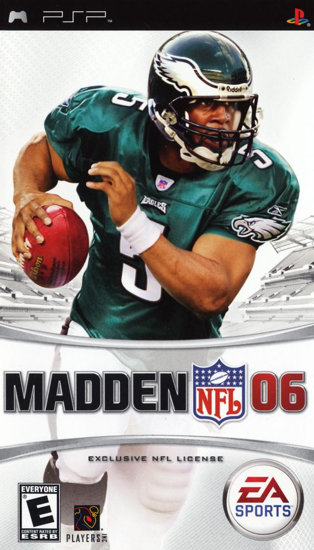 Madden NFL 06 - PSP - ISO Download