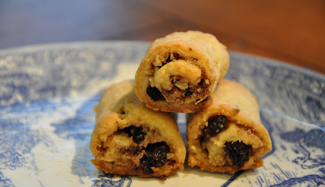 Cinnamon Rugelach with Walnuts and Raisins from Food Therapy