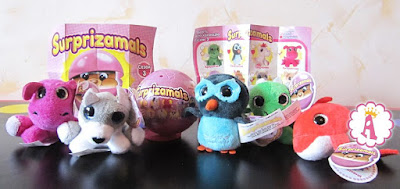 Surprizamals Stuffed Animals Series 3 Сюрпризамалс сезон 3