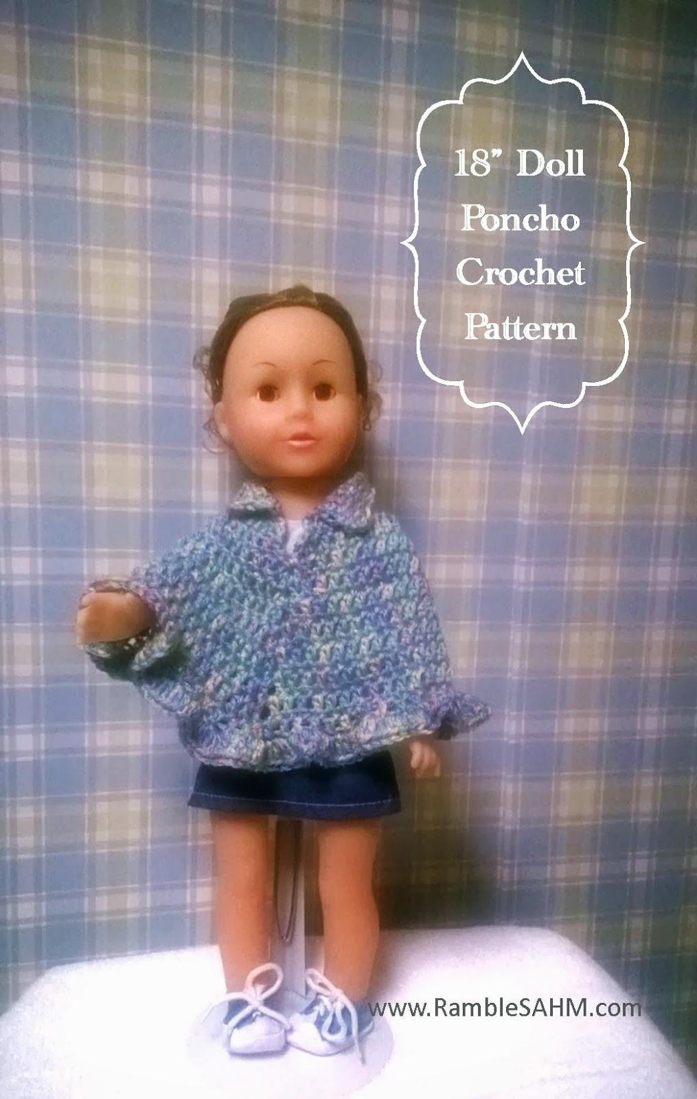 Toddler Shawl Crochet Pattern