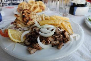 cucina greca creta gyros cipolla patatine pita