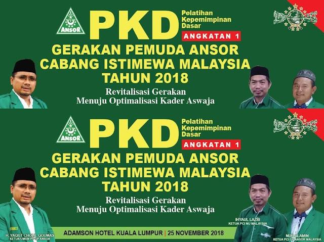 Di Malaysia Ada Cabang Istimewa NU, Muslimat, Fatayat, Pagar Nusa, dan GP Ansor