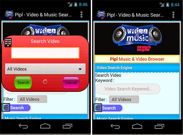 Pipl - Video And Music Search Apk