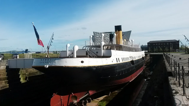 SS Nomadic ship in dock