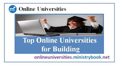 Top Online Universities for Building
