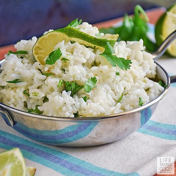 Cinco de Mayo Cilantro Lime Rice | by Life Tastes Good
