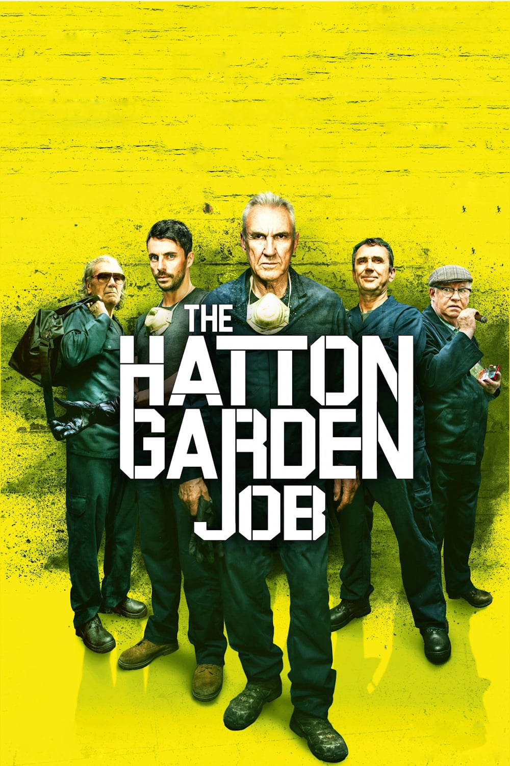 The Hatton Garden Job [2017] [DVD9] [PAL] [Español]