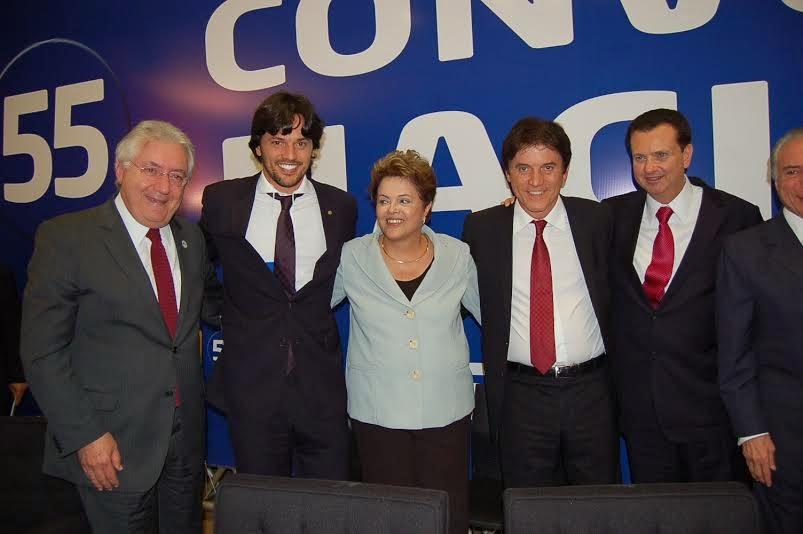 Robinson F%C3%A1bio Dilma Presidente Dilma se reunirá com Robinson Faria na próxima semana