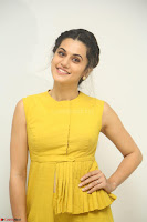 Taapsee Pannu looks mesmerizing in Yellow for her Telugu Movie Anando hma motion poster launch ~  Exclusive 111.JPG