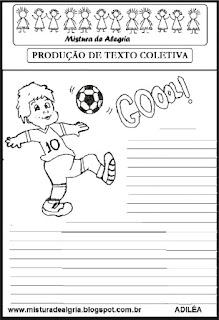 Produção de texto futebol