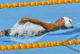 Renang Saat Itu Sebagian Besar Peserta Berenang Dengan Gaya Dada