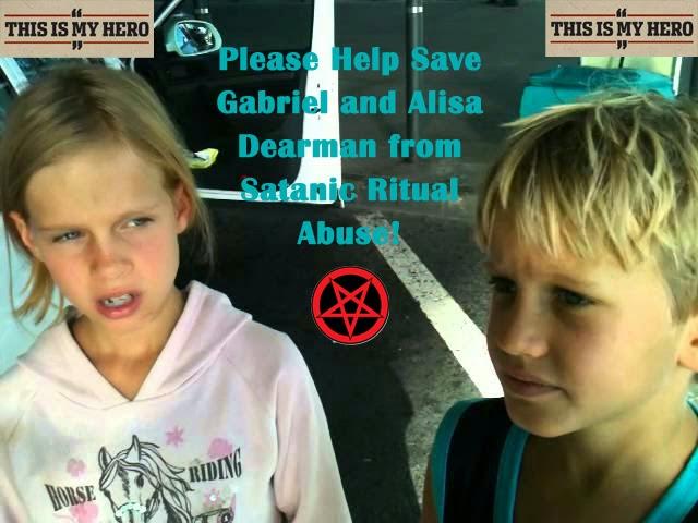 save the children! - Culto satánico pedofilia y canibalismo descubierto en Reino Unido