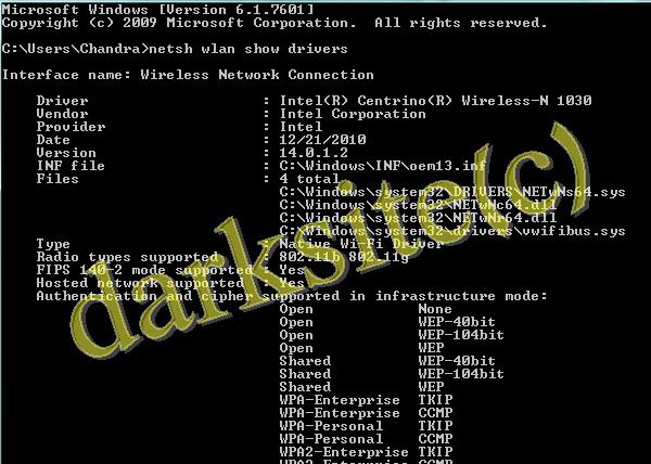 Wireless| Wifi Hacking Commands In Windows 7|8|Xp Operating