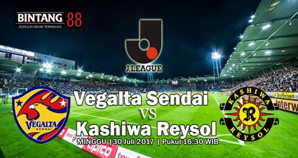 Prediksi Skor Vegalta Sendai Vs Kashiwa Reysol 30 Juli 2017