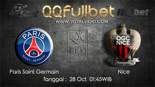 PREDIKSIBOLA - PREDIKSI TARUHAN BOLA PARIS SAINT GERMAIN VS NICE 28 OCTOBER 2017 (LIGUE 1)