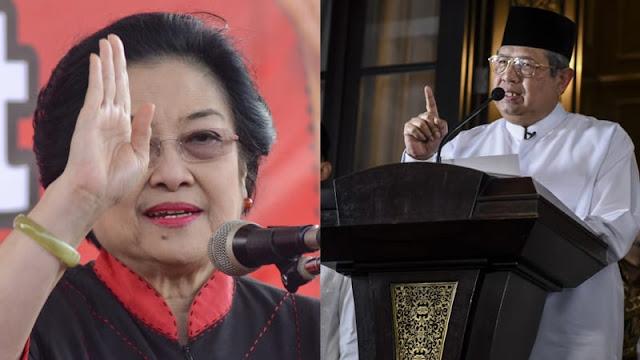 Babak Baru Perseteruan SBY vs Megawati
