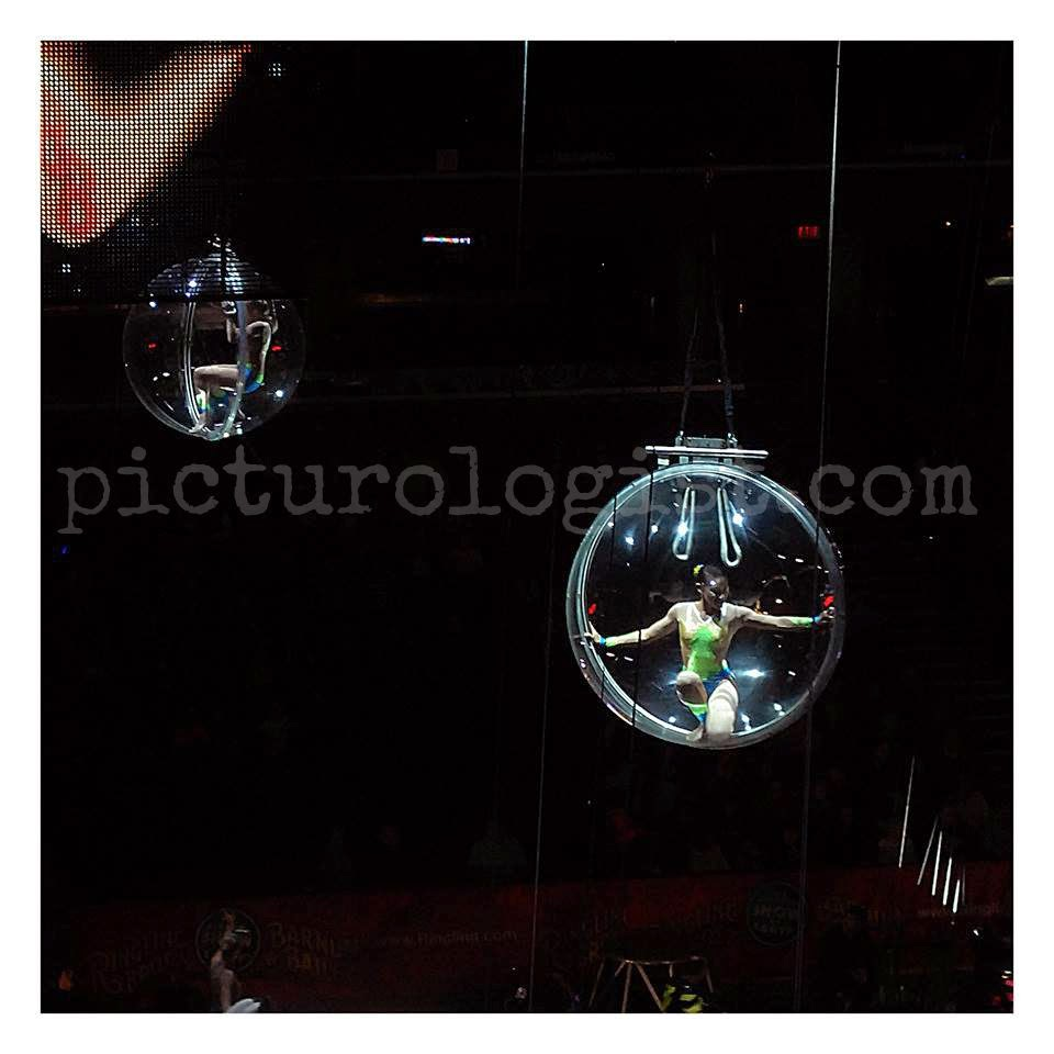 girls in glass balls  | #RinglingInsider @MryJhnsn