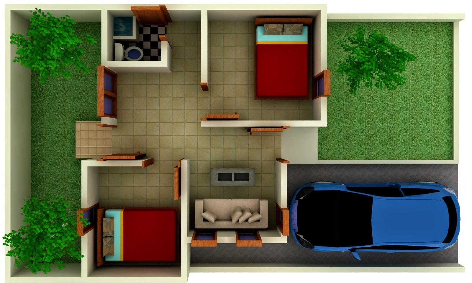 Dekorasi Rumah Minimalis Type 3672