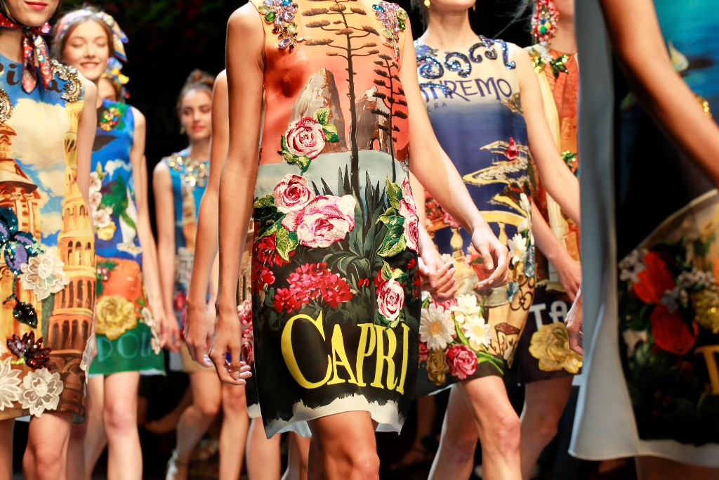summer getaway tips, summer like Dolce & Gabbana