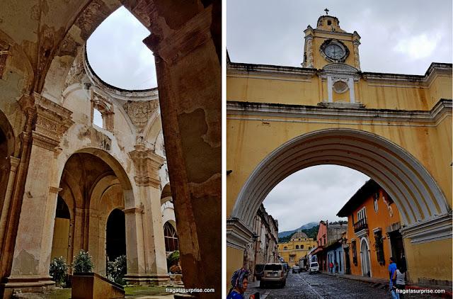 Cidade colonial de Antigua, Guatemala