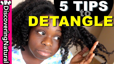 5 Tips to Detangling Your Hair ft. Especially Hair Moisture Foundation DiscoveringNatural