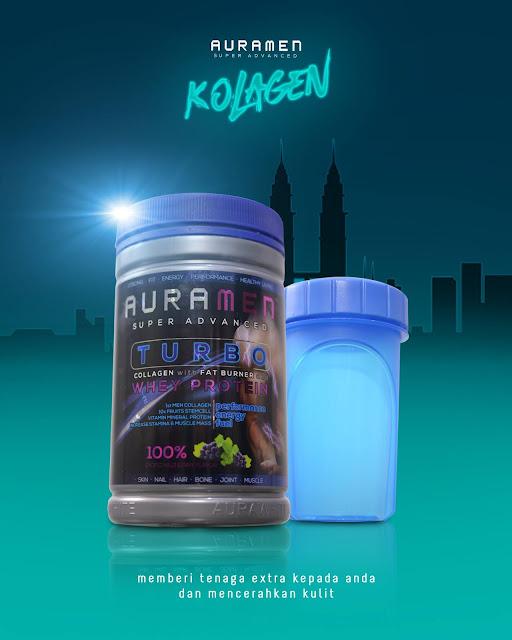 Auramen Turbo Collagen Khasiat Untuk Dalaman dan Luaran