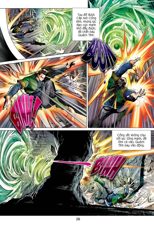 Anh Hùng Xạ Điêu anh hùng xạ đêu chap 56: tuyệt tình vô nghĩa lãnh huyết ác niệm trang 26