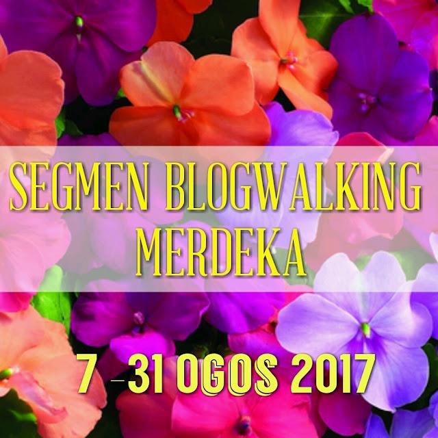 Segmen Blogwalking Merdeka by Love is Simple