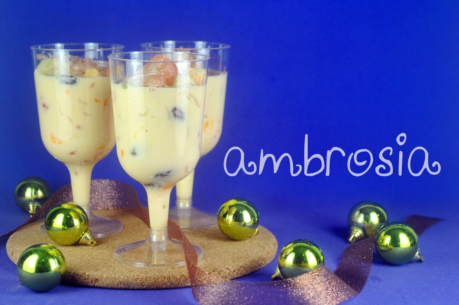 bakery cook and tips Ambrosia Food of the Gods Recipe