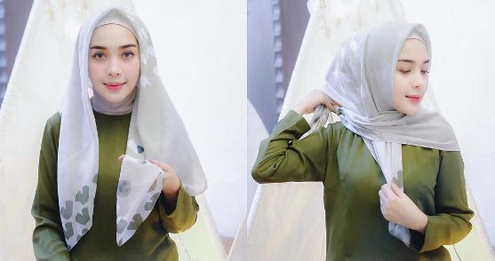Tutorial Hijab Ala Turki By Hamidah Rachmayanti