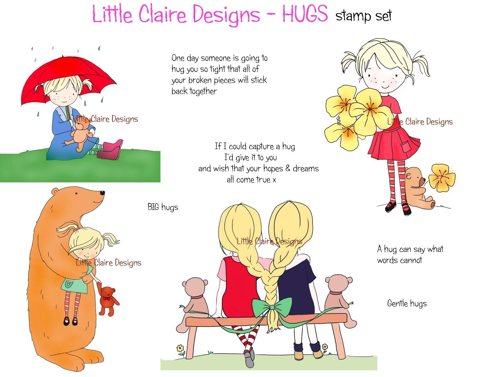 Little Claires Designs Sending Hugs