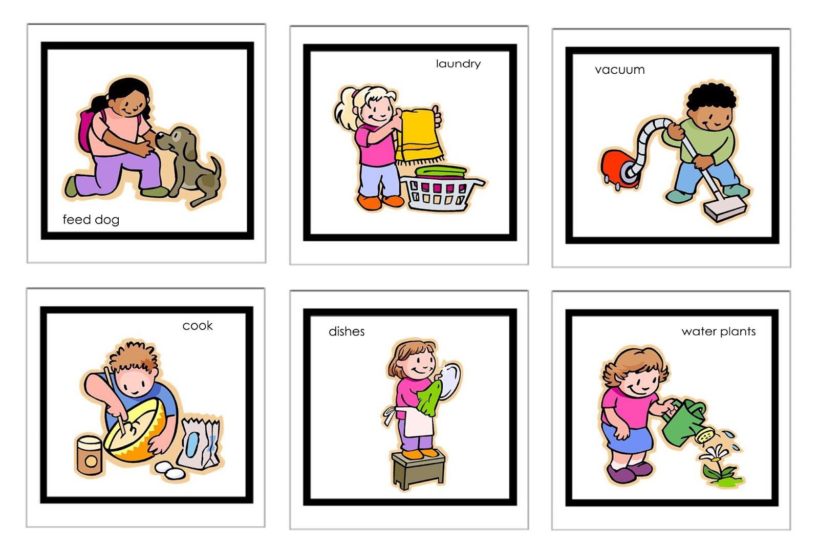 kindergarten schedule clipart - photo #21