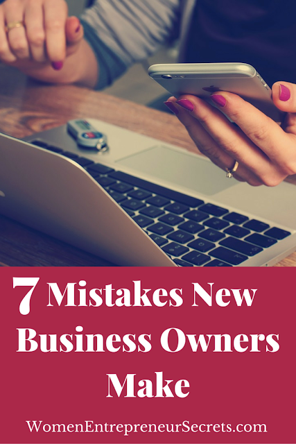 Seven mistakes new business owners make