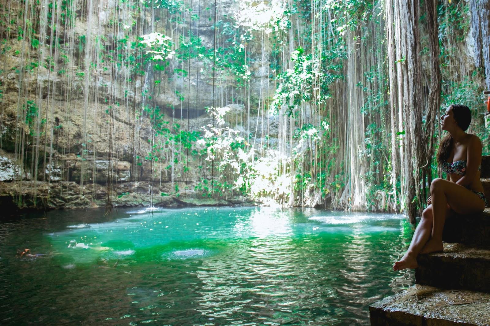 Cenote Swimming Tour