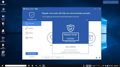 Screenshot GlarySoft Malware Hunter Pro 1.52.0.503 Full Version