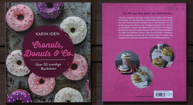 Rezension/Buchvorstellung Cronuts, Donuts & Co von Karin Iden