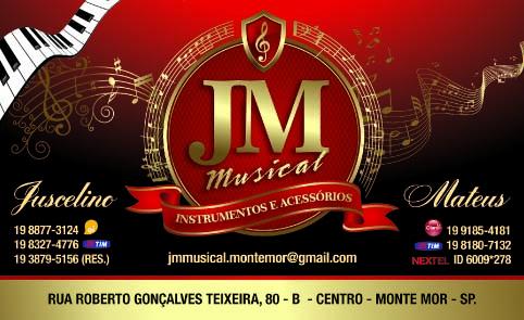c3677c1cd MONTE MOR EM CENA  Novo Parceiro Monte Mor em Cena JM Musical