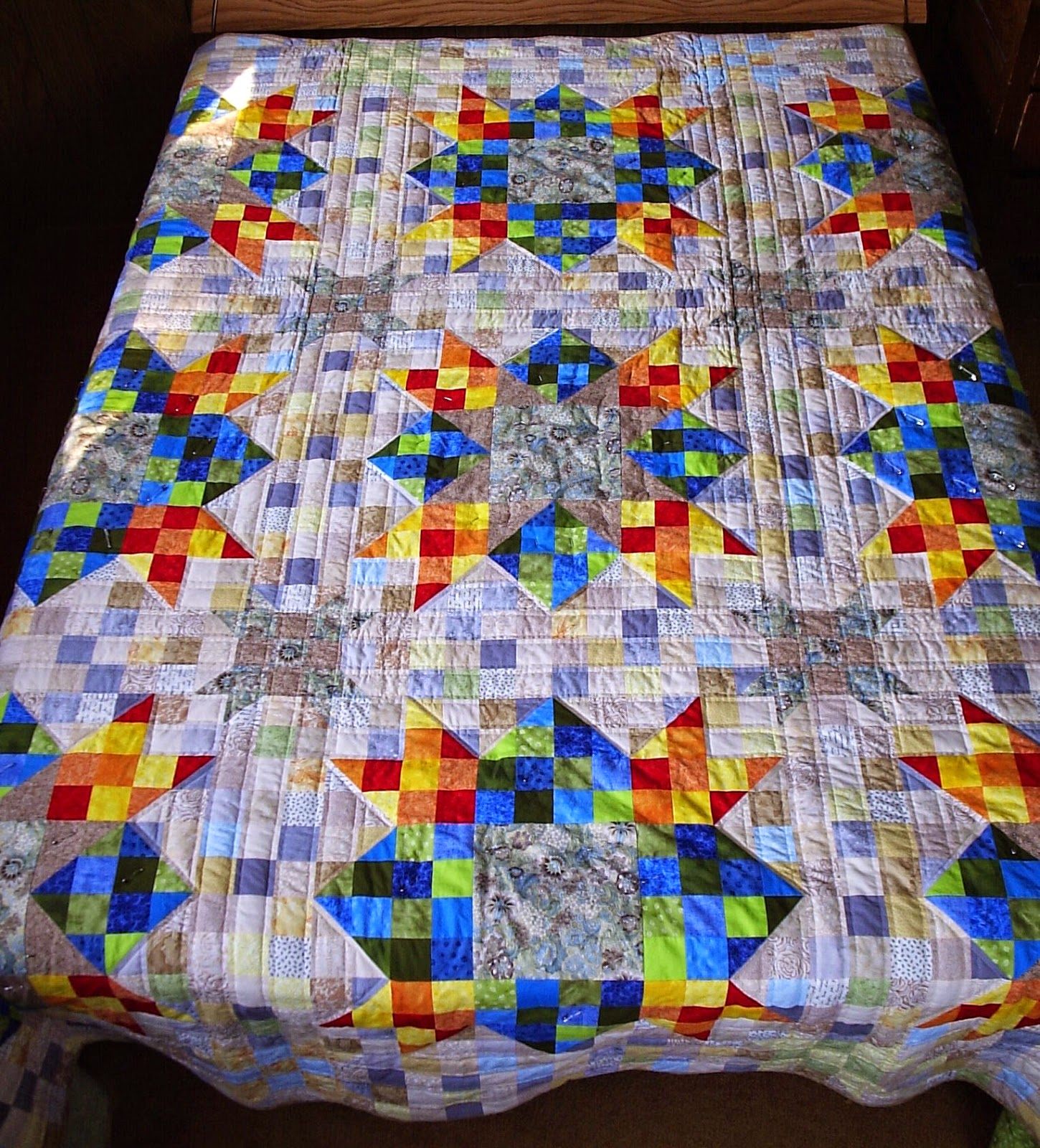 Sew Fresh Quilts: Top 10 Tips for New Quilters - Quilting with ... : quilting with a walking foot - Adamdwight.com