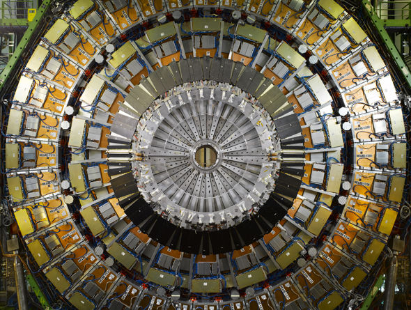CERN LHC Stargate erm I mean the Large Hadron Collider.