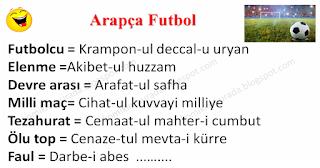 Arapça Futbol - Spor Fıkraları - Komikler Burada