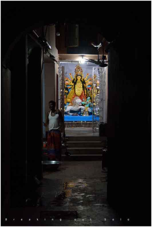 Breaking Out Solo: Durga Puja - North Kolkata